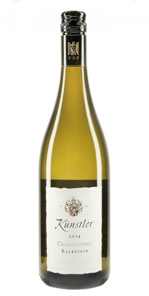 """Weingut Künstler Chardonnay """"vom Kalkstein"""" trocken 2014"""