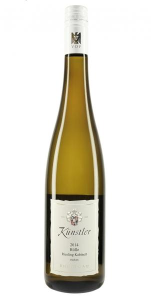 Weingut Künstler Hölle Riesling Kabinett trocken 2014