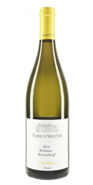 "Markus Molitor Pinot Blanc ""Wehlener Klosterberg"" Qba 2014"