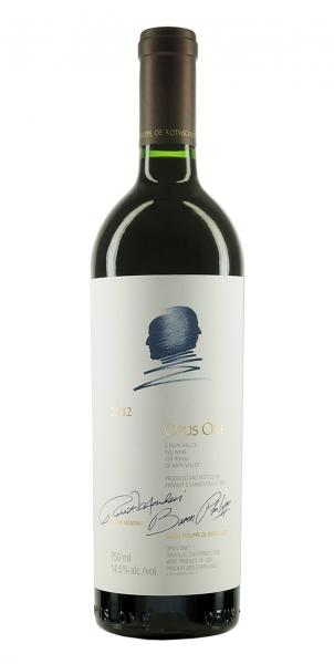 Opus One in Holzkiste von Rothschild & Mondavi 2012
