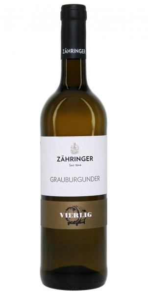 Zähringer Vierlig Grauburgunder BIO* 2013
