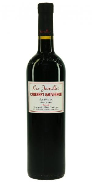 Les Jamelles Cabernet Sauvignon Pays d'Oc IGP 2013