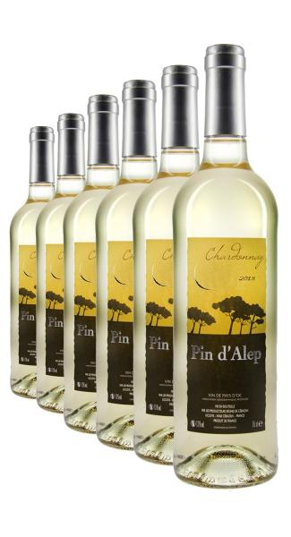 Weinpaket Pin d'Alep Chardonnay 2013 (6Fl x 0.75L)