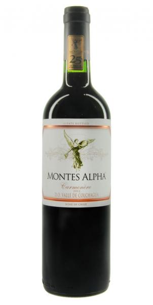 Montes Alpha Carmenère 2012