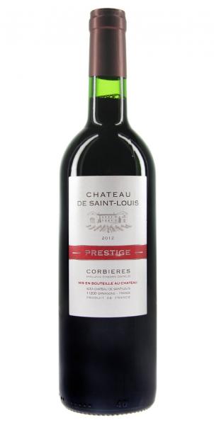 Chateau Saint Louis Prestige Corbieres Rouge 2012