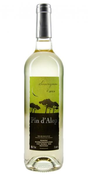 Pin d'Alep Sauvignon IGP Vin de Pays d'OC 2013