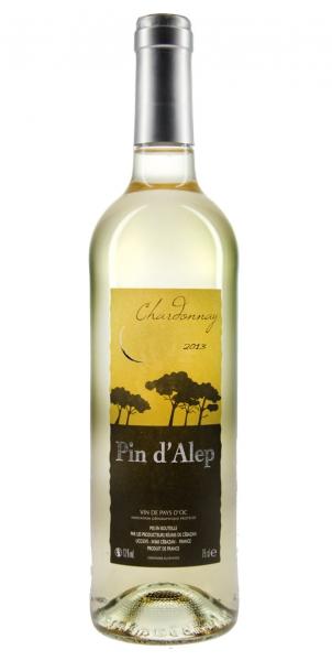 Pin d'Alep Chardonnay IGP Vin de Pays d'OC 2013