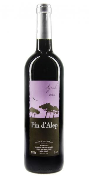 Pin dAlep Syrah IGP Vin de Pays dOC 2012