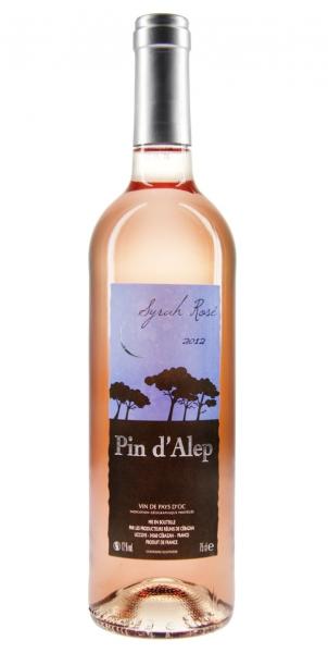 Pin dAlep Syrah Rose IGP Vin de Pays dOC 2012