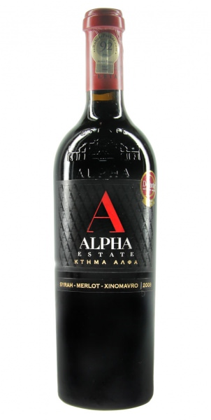 Alpha Estate Red S.M.X. Rotwein-Cuvée 2009