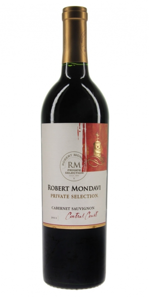 Robert Mondavi Private Selection Cabernet Sauvignon 2011