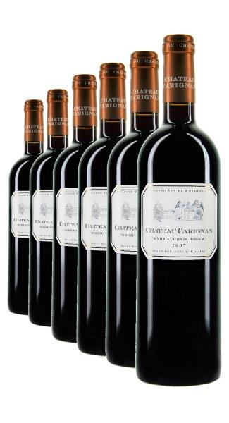 Weinpaket Bordeaux 6 x 0.75L Château Carignan