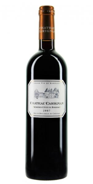 Château Carignan Premières Côtes de Bordeaux 2007