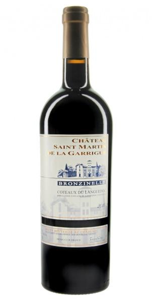 Château Saint Martin de la Garrigue Bronzinelle rouge 2010