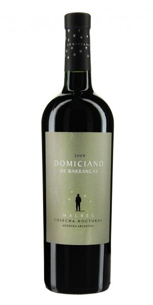 Domiciano de Barrancas Malbec Nachtlese 2009