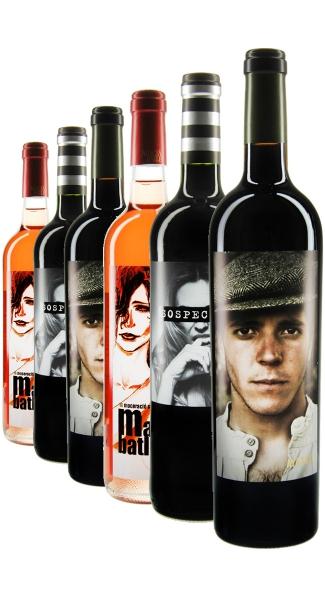 Weinpaket Spanische Gesichter (6Fl x 0.75L)