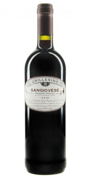Azienda Il Grillesino Sangiovese Maremma Toscana IGT 2012