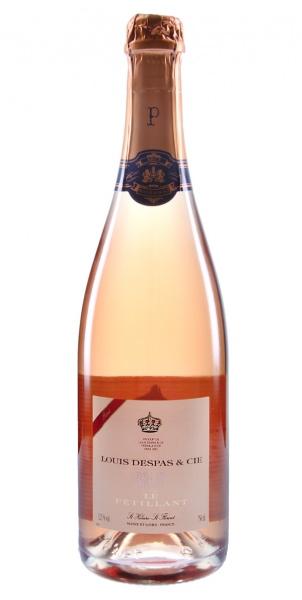 Louis Despas Le Pétillant rosé