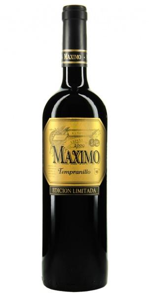 Bodegas Maximo Maximo Edición Limitada Tempranillo 2009