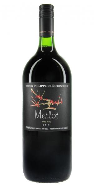 Les Cépages Magnum 1,5L Baron Philippe de Rothschild Merlot 2012