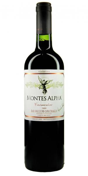 Montes Alpha Carmenère 2009
