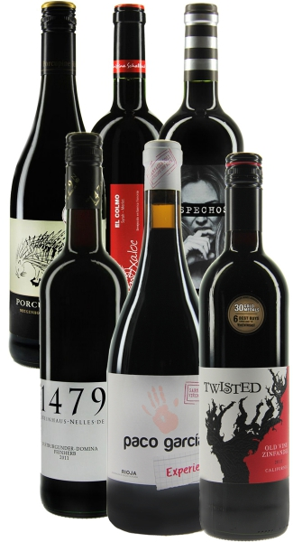 Weinpaket Six Shades of Red (6FL x 0.75L)