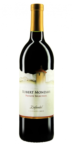 Robert Mondavi Private Selection Zinfandel 2010