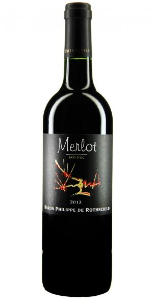 Les Cépages Baron Philippe de Rothschild Merlot 2012