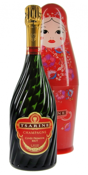 Champagner Tsarine Cuvée Premium Brut Russian Doll