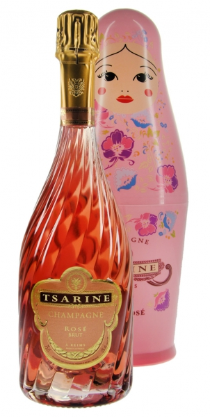 Champagner Tsarine Cuvée Rosé Brut Russian Doll