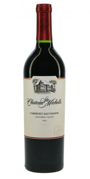 Chateau Ste Michelle Cabernet Sauvignon Columbia Valley 2012