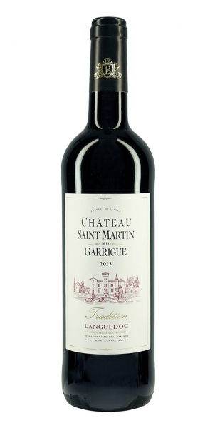 Chateau Saint Martin de la Garrigue Tradition Rouge 2013