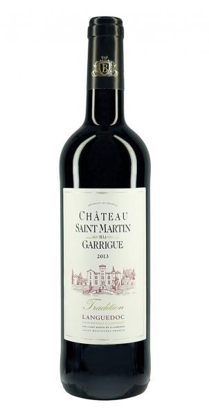 Chateau Saint Martin de la Garrigue Tradition Rouge 2013
