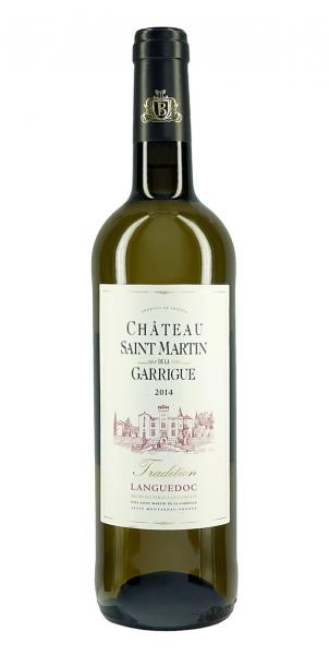 Chateau Saint Martin de la Garrigue Tradition Blanc 2014