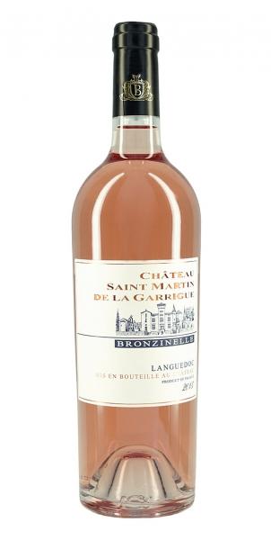Chateau St Martin de la Garrigue Bronzinelle Rosé 2015