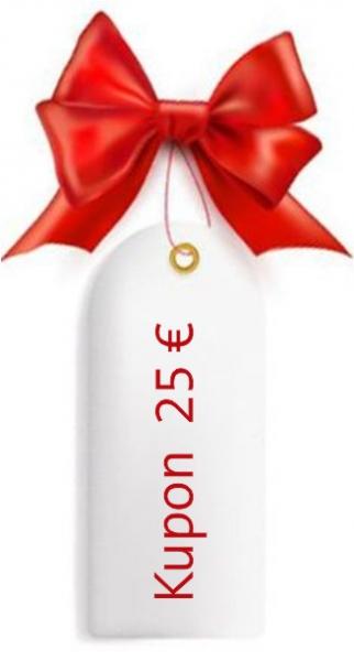 Geschenkgutschein - 25 Euro