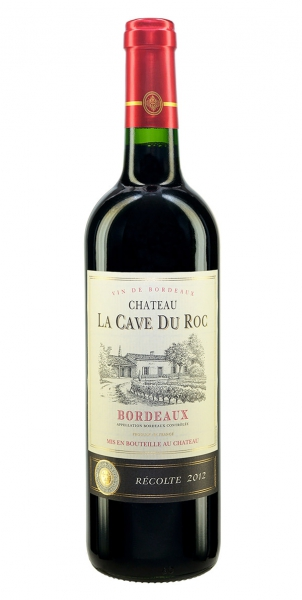 Chateau La Cave du Roc Bordeaux Rouge 2012