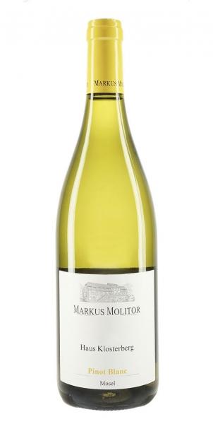Markus Molitor Pinot Blanc Haus Klosterberg 2015