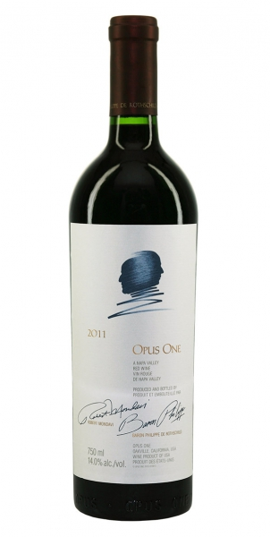 Rothschild Mondavi Opus One in Holzkiste 2011