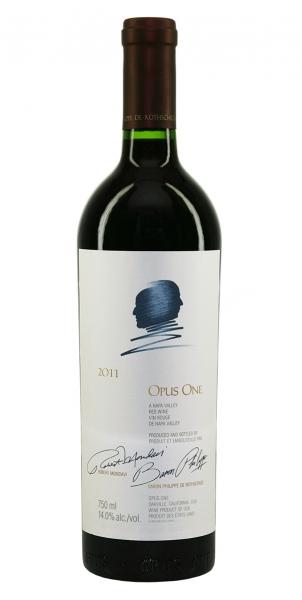 Rothschild Mondavi Opus One in Holzkiste 2011