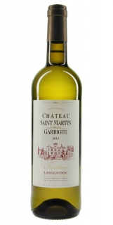 Château Saint Martin de la Garrigue Tradition blanc 2013