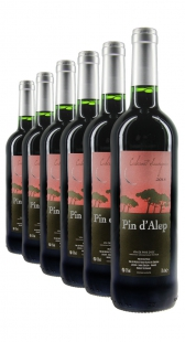 Weinpaket Pin d'Alep CS 2013 (6Fl x 0.75L)