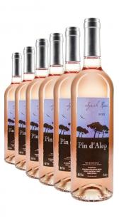 Weinpaket Pin d'Alep Syrah Rosé 2012 (6Fl x 0.75L)