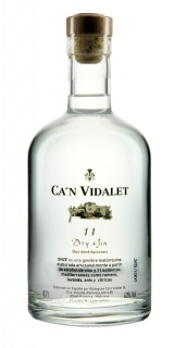 Can Vidalet 11 (Onze) Dry Gin 70cl 2011