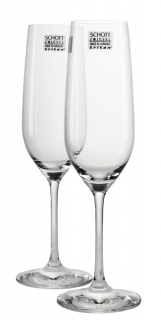 4 Champagnergläser Vina Schott Zwiesel