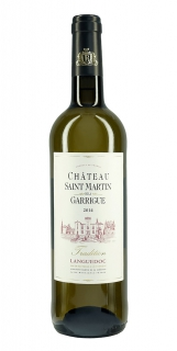 Chateau Saint Martin de la Garrigue Tradition Blanc 2014