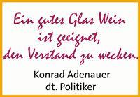 Redewendung von Konrad Adenauer