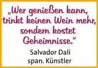 Redewendung von Salvador Dali