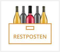 Hochwertige Wein Restposten